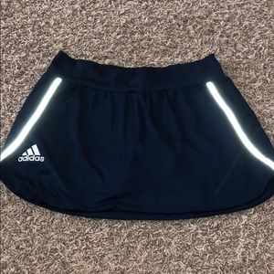 Adidas Navy Blue Athletic Skort